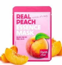 Тканевая маска для лица FarmStay Real Peach Essence Mask – Персик