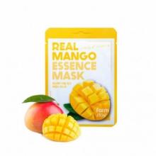 Тканевая маска для лица FarmStay Real Mango Essence Mask – Манго