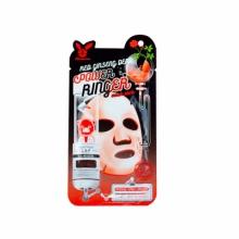 Увлажняющие тканевые маски Elizavecca Deep Power Ringer Mask Pack Red Ginseng - С экстрактом женьшеня
